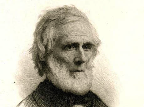 Detail of Horace Bushnell, ca. 1870 - Connecticut Historical Society and Connecticut History Online