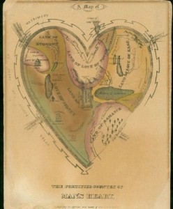 A Map of the Fortified Country of Man's Heart