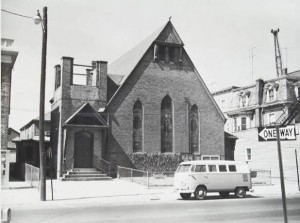 Dixwell Avenue Congregational Church before redevelopment, New Haven