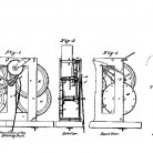 Striking part of clocks patented by Noble Jerome, June 27, 1839 - Patent number 1,200