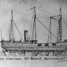 Sketch of the USS Albatross off Mobile, Alabama, September 25, 1863