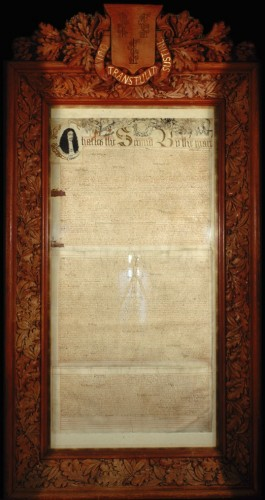 Charter of the Colony of Connecticut, 1662