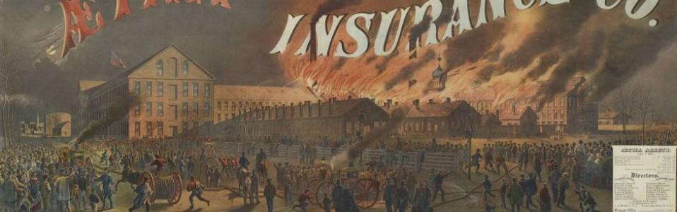Burning of Colt's pistol factory