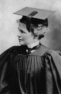 Emily Dunning Barringer at her 1901 graduation