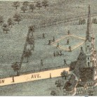 Birds-eye-view of Hartford Base Ball Grounds