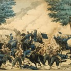Battle of Bull's Run, Va. Lithograph by E.B. & E.C. Kellogg, 1861