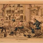 The Shoemakers printed by E.B. & E.C. Kellogg