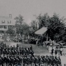 Presentation of Colors to the 19th Connecticut Regiment, Litchfield, September 10, 1862