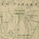 Detail illustrating the New Canaan Railroad tracks