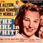 The Girl in White, movie advertisement starring June Allyson as Emily Dunning Barringer