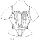 Catharine Allsop Griswold, Improvement in Skirt Supporting Corsets, Patent Number 56,210 - July 10, 1866, Willimantic