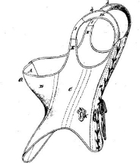 Catharine A. Griswold, Improvement in Corsets, Patent Number 116,585 - July 4, 1871, Willimantic
