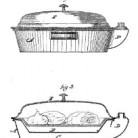 Mary M. J. O'Sullivan, Improvement in Dinner Plate Covers, Patent Number 120,995 - November 14, 1871, New Haven