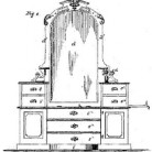 Jane E. Gilman, Improvement in Combined Dressing Bureaus and Bath Tubs, Patent Number 107,479 - September 20, 1870, Hartford