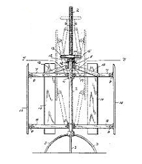 Lucilla Mallory, Garment Stretcher Patent Number 529,283 - November 13, 1894, Bridgeport