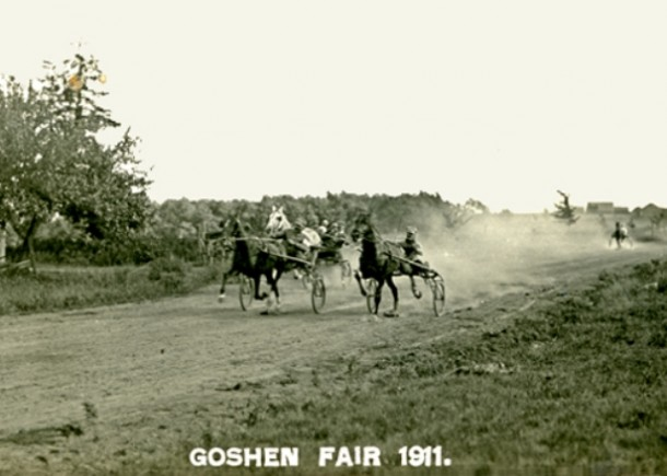 Horse race, Goshen Fair, 1911