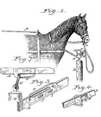 Leila C. Harrison, Hitching Device, Patent Number 306,484 - October 14, 1884, New Haven