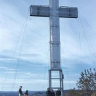 Holy Land's original steel Cross dedicated in 1956