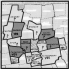 Map of Hartford and its Surrounding Suburbs that Agreed to Participate in Project Concern