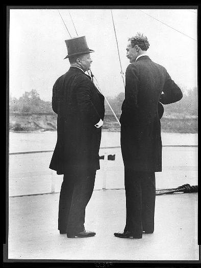President Theodore Roosevelt and Chief Forester Gifford Pinchot