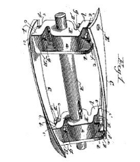 Evelyn Beecher, Rotary Cutter, Patent Number 364,792 - June 14, 1887, New Haven