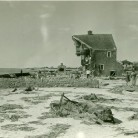 Hurricane damage at White Sands Beach, Old Lyme. September 1938