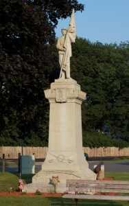 Defenders of the Flag Monument, Soldiers Monument, Plainville