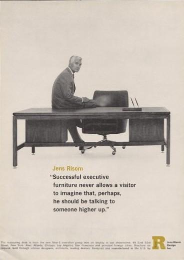 Advertisement shot by Richard Avedon, ca. 1964