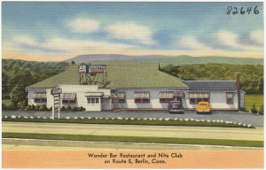 Wonder Bar Restaurant and Nite Club on route 5, Berlin
