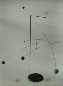 Photograph of Alexander Calder's Mobile