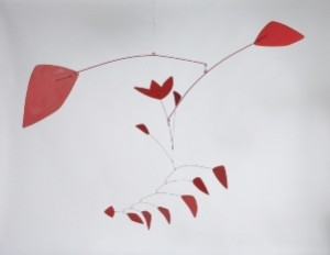 Alexander Calder, The Tulip, mobile