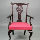 Armchair. Made in 1775 by the shop of Eliphalet Chapin