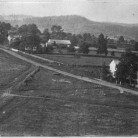 East Town Street and green viewed from the steeple of the First Congregational Church, 1868