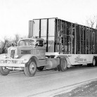 Delivery truck for The Lustron Home