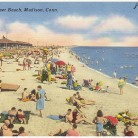 From its time as part of a Native settlement to its 1920 debut as a state park, Hammonasset Beach in Madison has a long history. The state's largest shoreline park now features a new boardwalk, nature walks, and a seaside preserve for birds and other wildlife - Boston Public Library, The Tichnor Brothers Collection