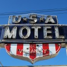 The USA Motel, Berlin Turnpike, Newington