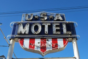 The USA Motel, Berlin Turnpike, Newington