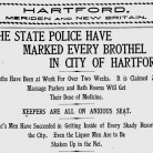 News item in the October 1, 1905, Bridgeport Herald