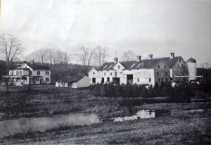 Homestead and seed barns of Everett B. Clark
