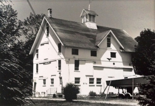 Everett B. Clark seed barn, Orange
