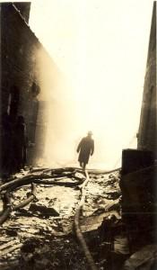 Greenwich Avenue Fire, February 22, 1936