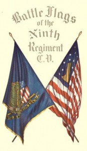 Battle Flags of the Ninth Regiment C.V.