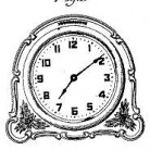 Norman F. Thompson, Jr. Clock CaseDesign Patent 82,961December 30, 1930
