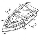 N. E. Loomis, Method of Assembling a Steam Iron BasePatent Number 3,260,005July 12, 1966