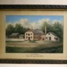 A water color of W.J. Squire's Gill Net Manufactory, East Haddam