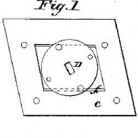 A.B. Corey, Mold For Making Warp Dresser Guides of Glass Patent Number 21,487September 14, 1858