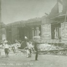 Aftermath of the fire, July 1908