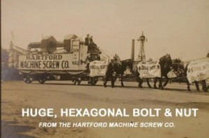 Hartford Machine Screw, Co.'s float