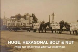 Hartford Machine Screw, Co.'s float