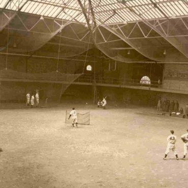 The Boston Braves playing during spring training